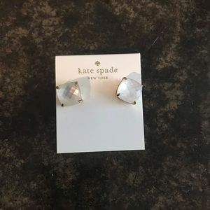 Kate Spade Clear Earrings